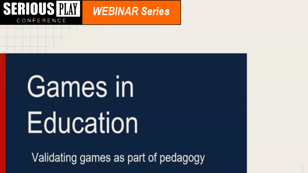Games As Paradigm for Pedagogy:  Chris Crowell, Crowell Interactive
