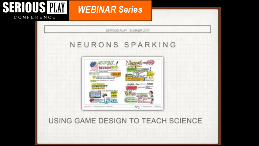 Neurons Sparking: A Three Step Method For Using Game Design to Teach Science: M A Greenstein, MaMaxStudio
