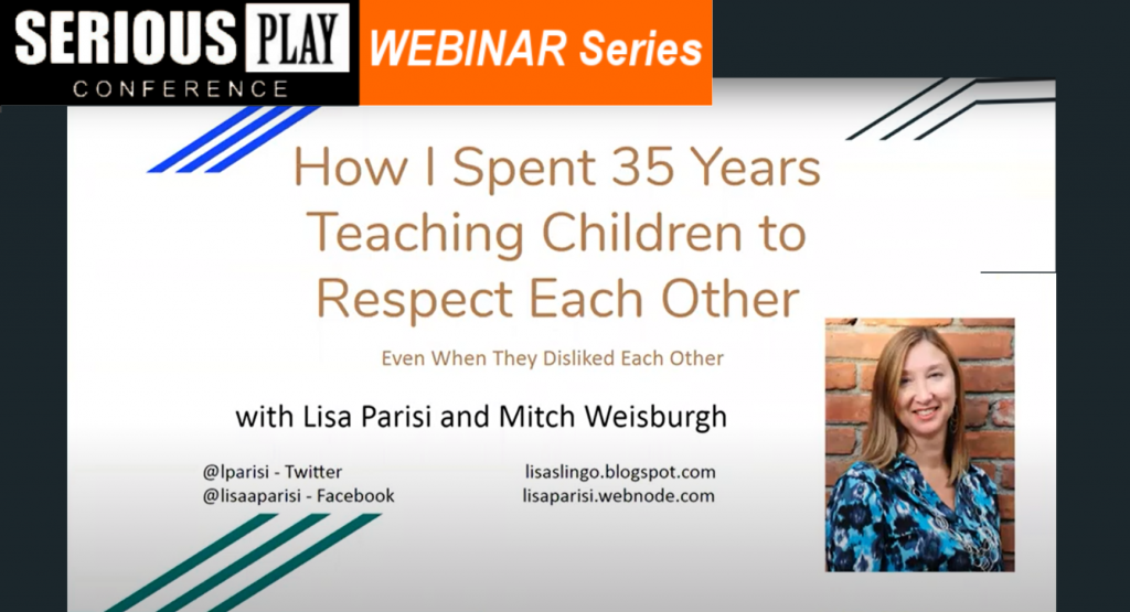 EdChat Interactive: 35 Years Teaching Children to Respect Each Other with Lisa Parisi